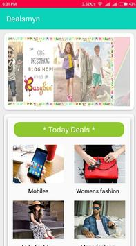 Deals Myn - coupon App poster