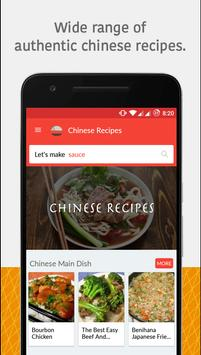 Chinese food recipes apk download free food drink app for chinese food recipes poster forumfinder Image collections
