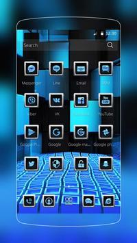 Blue Tech Fusion screenshot 1