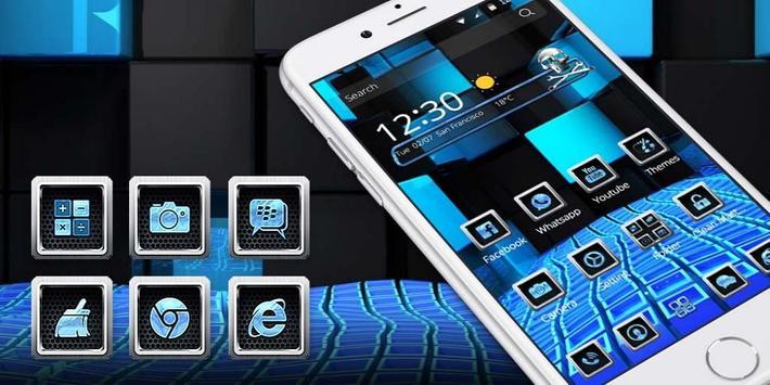 Blue Tech Fusion screenshot 3