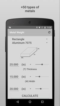 Metal Weight screenshot 1