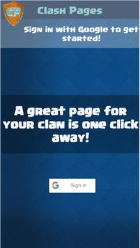 Clash Pages for Clash Royale poster