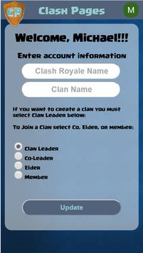 Clash Pages for Clash Royale apk screenshot