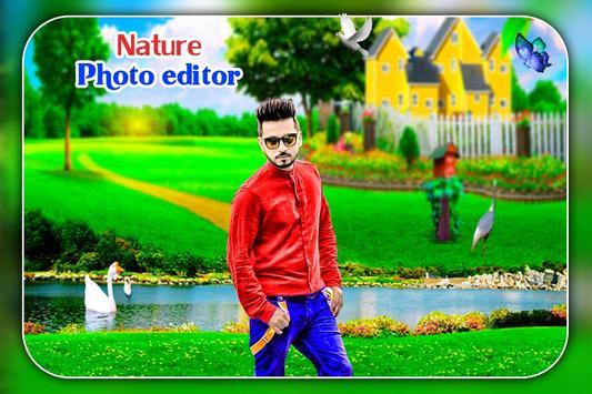 Nature Photo Editor 2018 screenshot 1