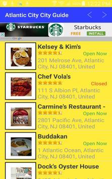 Atlantic City New Jersey apk screenshot