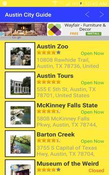What to Do in Austin Texas apk screenshot