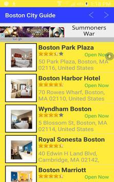 What to Do in Boston Mass apk screenshot