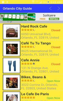 Orlando Theme Park  City Guide apk screenshot