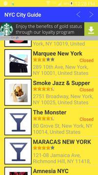 NYC City Guide - with reviews apk screenshot