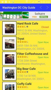 Washington DC City Guide apk screenshot