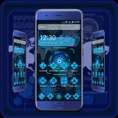 Tech Blue Sci-Fi Theme icon