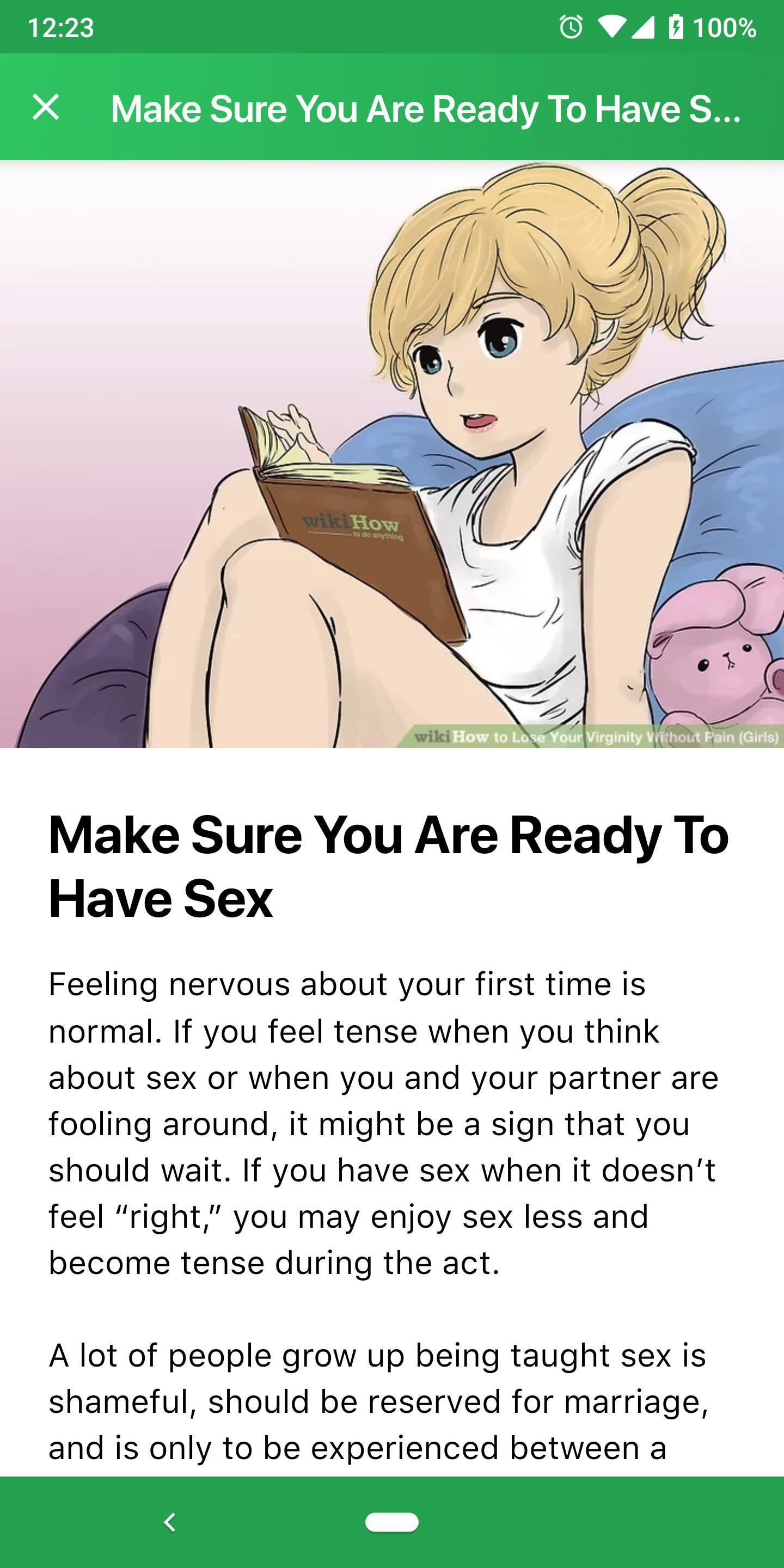 Download How To Lose Your Virginity Without Pain Gif