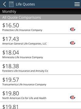 Gordon Marketing Life Insurance Quoting screenshot 8