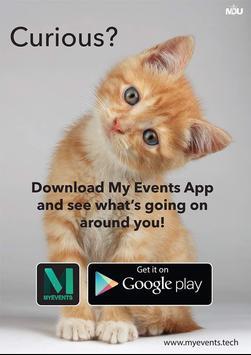 MyEvents App poster