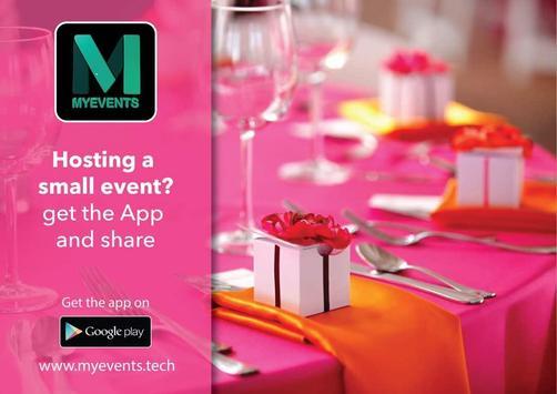 MyEvents App screenshot 10