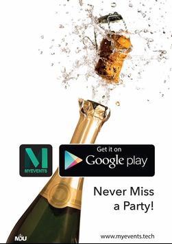MyEvents App screenshot 1
