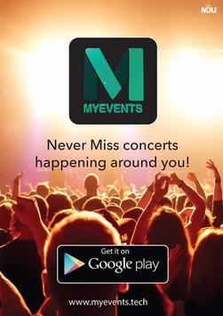 MyEvents App screenshot 2
