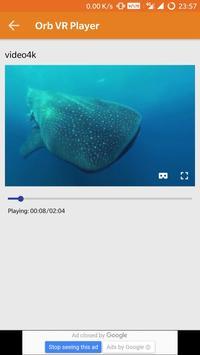 Orb 360 VR Player apk screenshot