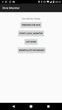 Dive Monitor poster