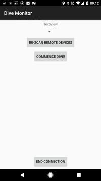 Dive Monitor apk screenshot