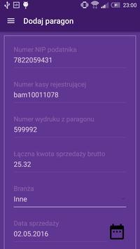 Loteria paragonowa apk screenshot