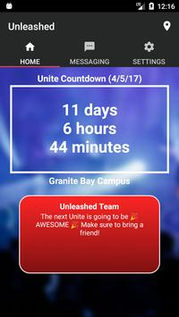 Unleashed - Student Ministries poster