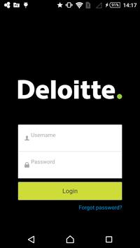 Deloitte Events poster