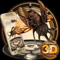 3D Steampunk Tech Beetle Theme