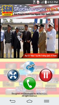 SGN TV - Saigon Network TV apk screenshot