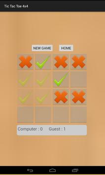 Strategic Tic Tac Toe 4x4 screenshot 4