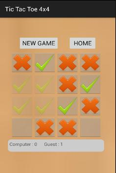 Strategic Tic Tac Toe 4x4 screenshot 2