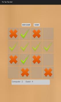 Strategic Tic Tac Toe 4x4 screenshot 3