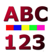 Kids Learn ABC 123 Shapes Colors icon