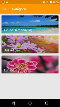 Mensajes y Gifs-Dias de la Semana screenshot 2