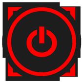 Portable Bright Flashlight LED icon