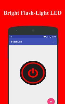 Portable Bright Flashlight LED screenshot 1