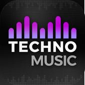 Rádio da música de Techno ícone