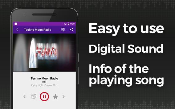 Rádio da música de Techno imagem de tela 2