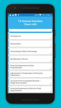 TS Grewal Solution - Class 11th Accountancy screenshot 2