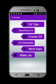 My CV Maker poster