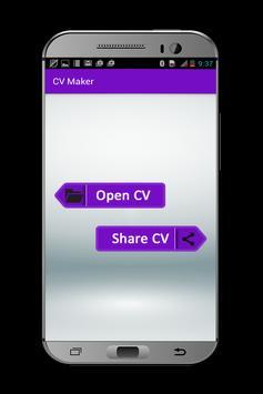 My CV Maker apk screenshot