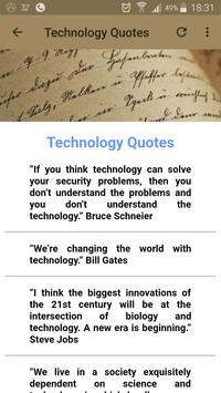 Technology Quotes screenshot 14