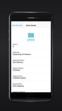 SAVY™ Order Manager apk screenshot