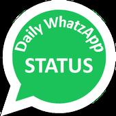 Daily Status App icon