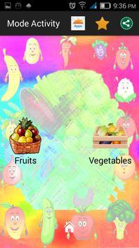 Kids Genius - Fruits & Veg screenshot 1