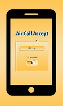 Air Call Accept poster