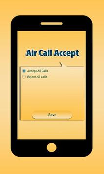 Air Call Accept apk screenshot