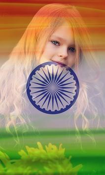 Indian Flag Photo poster