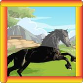 Horse run- wild simulator icon