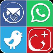 منشورات فيسبوك و حالات واتساب 2018 icon